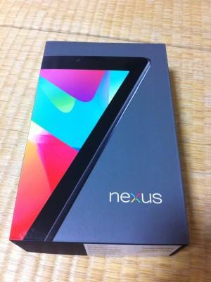 Nexus7について、語ろうか