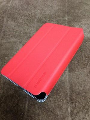 Nexus7をドレッシーにする紅い風呂フタ