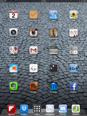 iPhone5とiPad miniでほぼほぼ同一環境にする運用