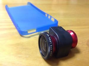 iPhone5/5s用魚眼+広角・マクロレンズ