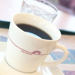 モスのコーヒー。んまいわぁ。染みわたるわぁ。#iphone7plus #被写界深度エフェクト #ポートレートモード