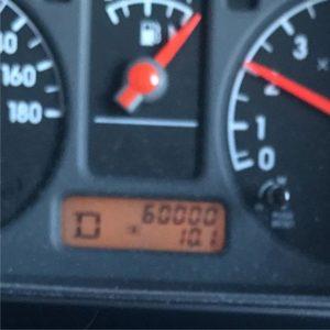 ついに!60000km到達!新車で購入してから11年でようやくですわ。いやぁ、長距離乗らないし週末ぐらいしか乗らないから、走行距離少ないのぉ。まだまだ元気でがんばってもらいますよ、キューブキュービック。