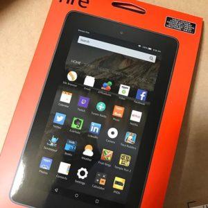 Amazonが!ブラックマンデーセールで!Kindle Fireが!安かったので!買っちゃった!注文したのが!昨日なのに!今日届いた!なんて爆速!神!プライム、万歳!