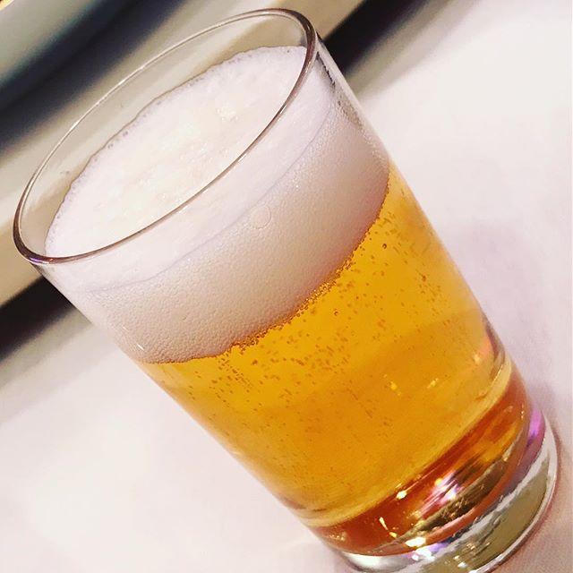 ビール!んまいっ!長女の高校のPTAの飲み会、なうっ!