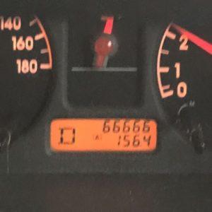 実家弾丸日帰りツアー、無事終了。拘束往復520kmの車の旅、最近頻繁に帰省してるのでなんか、慣れた。けど、やっぱり疲れた。そしてようやく愛車が66,666km達成。今回はちゃんとぞろ目を確認できたー!