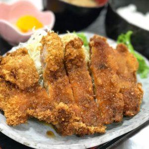 たかのこの湯からのぉ、お昼ご飯はジョープラでぇ、チキンカツ南蛮定食540円也。満腹也。