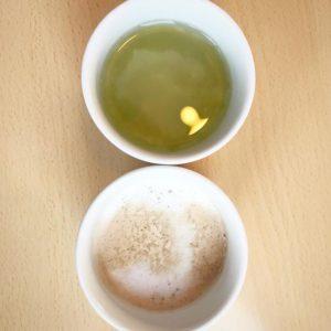 ジョイフルのドリンクバーで絶対飲んでしまうのが、梅昆布茶とカフェラテ。梅昆布茶5杯飲んだこともあったなぁ…。どんだけ好きやねんwww