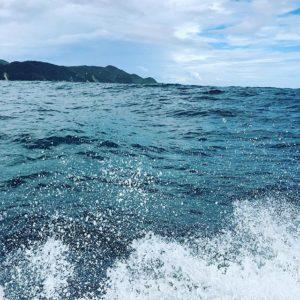 佐田岬クルージング、無事終了っー!台風が近づいてるせいで、メチャメチャ揺れまくり!ある意味、ワンダーで、デンジャーなクルージングwwwなかなかできない貴重な体験、しちゃいましたww