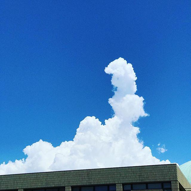 来たぜ!入道雲がっっ!大きく育つつもりだぜっっっ!