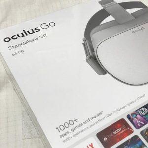キ、キター!!Oculus Go、いらっしゃ~い!