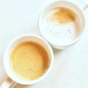 朝カフェ。#バエアート