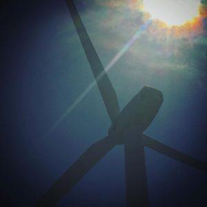 佐田岬の風車を、ちょびっとアートっぽく。#バエアート