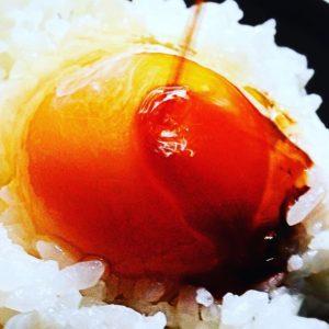 大好きなTKG、卵かけごはんもアートにしちゃえっ!撮影者本人がアートだ!といえば、それはアートなんだっっ!www#バエアート