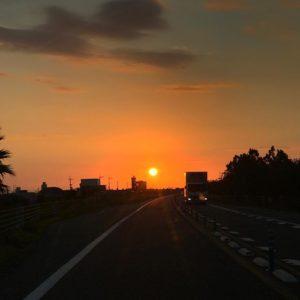 徳島で朝日を見るのも久しぶり。おはようございます。