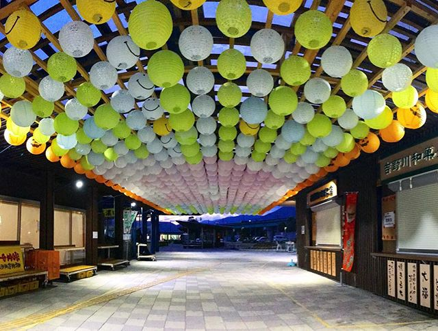 徳島自動車道の吉野川ハイウェイオアシス。なんか、面白そうなことになってた!