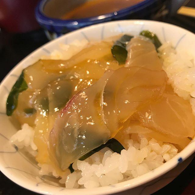 美味しゅうございました。宇和島の鯛めしは、絶品です。