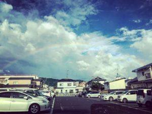 虹が出たー♪