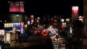 DJI OSMO MOBILE2のタイムラプス、モーションタイムラプスで夜景を撮影してみた。テスト的にやってみたけど、これ、なかなかいい!面白い!まぁ、こんなこともできるっていう、映像の演出としてちょこっと挟めるようにできればいいかな。